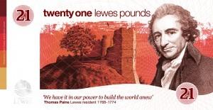 Lewes Ten Pound Note