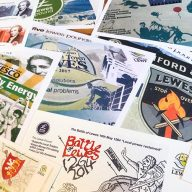 The Lewes Pound Collectors Packs Set of Nine Postcards image