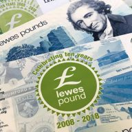 The Lewes Pound Local Currency LP Celebrating 10 years montage image