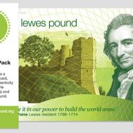 The Lewes Pound Celebration Pack image