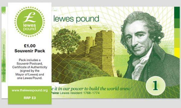 The Lewes Pound Celebration Pack image