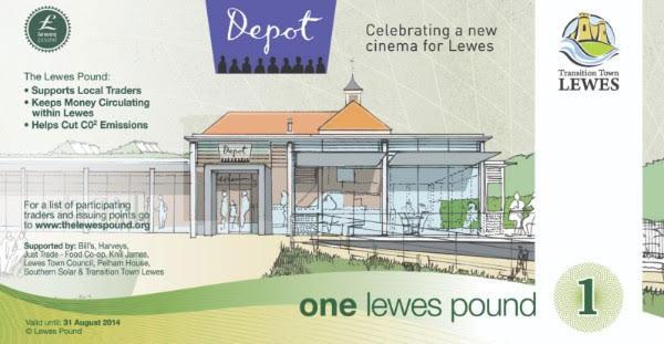 Depot - Lewes pound