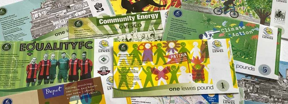 Lewes Pound Collectors packs banner 2020 image